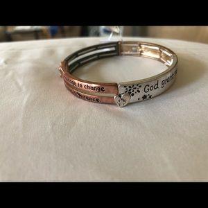 Boutique Serenity prayer bracelet